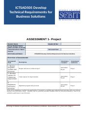 Assessment 1 - Project (20)