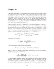 PHY2049 Chapter 44 Solutions