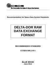 CCSDS 506.1-B-1, Delta-DOR Raw Data Exchange Format (Blue Book, Issue 1, June 2013).doc