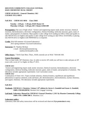 CHEM 1411_Fall 2014_ 25661_Dual_Credit_Syllabus