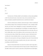 of mice and men reading project.docx