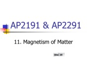 11_Magnetism of Matter wo ans