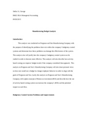 SavageS_M5_A2 Manufacturing Budget Analysis Final.docx