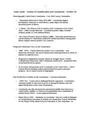 Oct 30 STUDY GUIDE ARTICLES OF CONFEDERATION