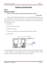 EEE-VII-ELECTRICAL POWER UTILIZATION [10EE72]-SOLUTION