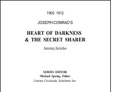 Heart Of Darkness & The Secret Sharer Analysis.pdf