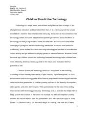 Children Should Use Technology-Final.docx