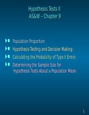 Lecture6 -2 - Hypothesis Test 2
