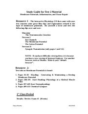 Study Guide for Membrane Potentials.doc