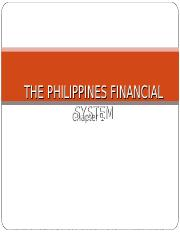 chapter_1_the_philippine_financial_system2