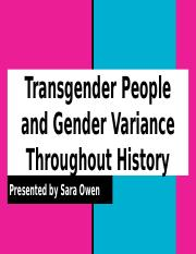 Transgender People Throughout History.pptx