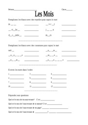french_months_worksheet