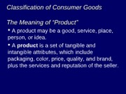 11 Classification of Goods