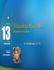 Modul 13 - Data-Center-Infrastructure - Ida Nurhaida.pdf