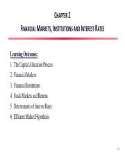 Chapter 02 Financial Markets, Institutions and Interest Rates.pdf