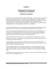 Managerial-Accounting-Chapter-1- Questions and Answers