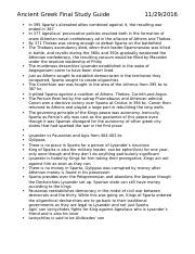 Ancient Greek Final Study Guide 2