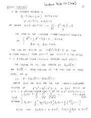 bessel notes