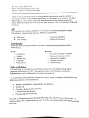 ACTG 320 Example Digitional Technology Memo