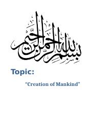 CREATION OF MANKIND(SHAHNAM).docx