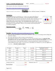 PHY222_WOA1_Phet_GravityAndOrbits_Sol(1) - PHY222 Weekly ...