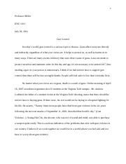 Im in enc 1101(freshman english) any topics for a process essay?