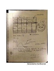 Probability chart notes