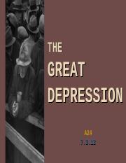 Great Depression and Hoovers Response up to 1932--GOOD w lots of pics - Nour Abdelwahab.ppt