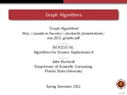 Study Guide on Graph Algorithms