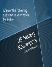US History Bellringers.pptx