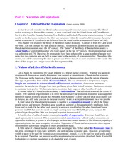 Economics 110 Chapter 02 Liberal Market Capitalism