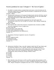 Practice problems for exam 3_chapter 9.docx