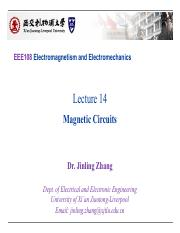 EEE108 Lectures14_Magnetic_Circuits_Upload