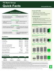 2014-Q4 TD Bank Quick Facts.pdf