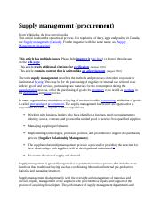 Supply management.docx