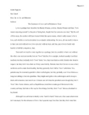 the crucible conflict essay draft nguyen justin nguyen ms  4 pages the existence of love and its relation to trust