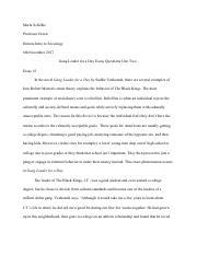 Essay international students