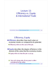 EC101Outlines13-EfficiencyEquityIntTrade
