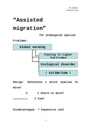 Assisted migration