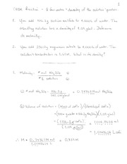 05 practice density of solutions