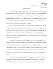 TESOL  Research Paper