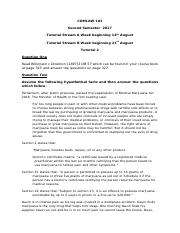 comlaw aropa assignment essay These aims can be given more or less emphasis depending on the length and  type of essay in a very short essay (less than 1000 words),.