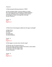 chem cp 2 test w. ANSWERS