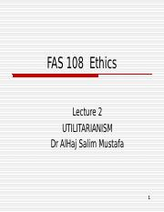 Lecture 2 Utilitarianism.ppt