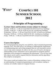 CourseInformation