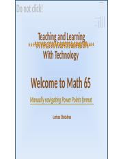 Math 65 Sec 6.2 READY 2 TO Moodle  A is 1, grouping m-d.pptx