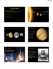 Topic 5b - Summer 2014 -The Universe - Mars Venus.pdf