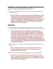 Study Guide 5 Functionalism.doc