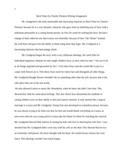 Hard Times by Charles Dickens Writing Assignment