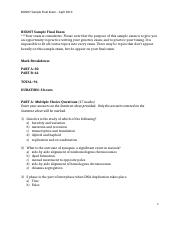 BIO207 Sample Final Exam_April 2013